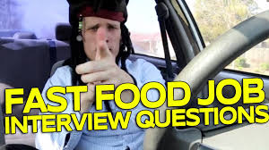 Career At Burger King Fast Food Job Interview Questions Youtube