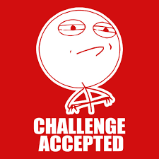 Meme Challenge Accepted - challenge accepted meme central t shirts