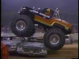 monster truck racing association u s rod association in the 1980s youtube