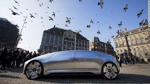 mercedes autonomous car test ride the mercedes f 015 cnn style