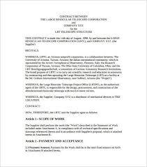 vendor agreement template vendor agreement template 12 free word