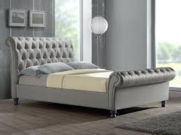 Grey Ottoman Bed Bed Frame Fabric Image Of Grey King Bed Frame Plan Regal Fabric