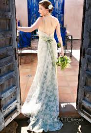 green wedding dresses bintou s white and green wedding dresses give the white as