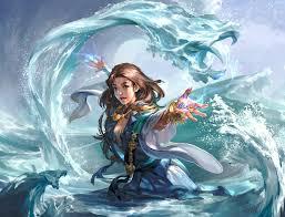 artstation the water wizard ran he