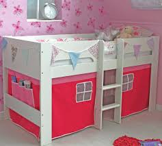 flexa jessie midsleeper girls bed u0026 tent u2013 family window