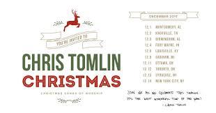 grammy winner chris tomlin announces u201cchris tomlin christmas