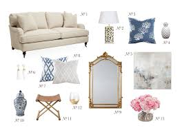 Tory Burch Home Decor At Home Shades Of Blue U0026 Gold In The Living Room This Is Glamorous