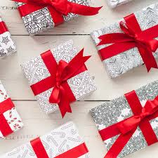 christmas gift wrapping paper printable christmas wrapping paper 8 pack clark