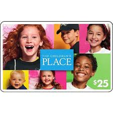 the children s place gift card shoes apparel gifts food