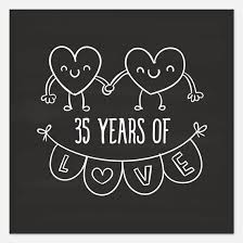 35th anniversary gifts 35th wedding anniversary invitations for 35th wedding anniversary