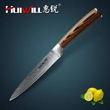 forged japanese kitchen knives huiwill damascus knife 5 japanese vg10 damascus steel kitchen