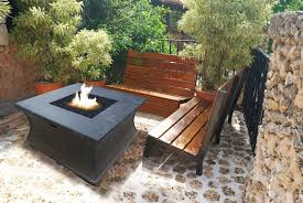 bench wooden fire pit bench fire pit benches plans the latest