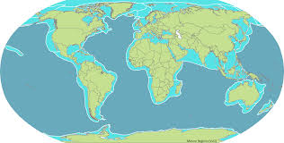 Biomes Map Marine Regions
