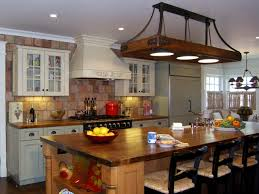 houzz kitchens traditional stainless steel overhead racks antique