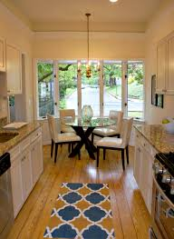 Galley Kitchen Rugs 5 Ways To Make Your Tiny Galley Kitchen Feel Bigger