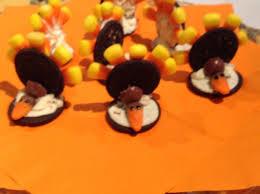oreo turkeys thanksgiving snack recipe genius kitchen