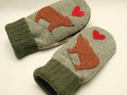 sweater mittens 132 best felted sweater mittens images on felt flowers