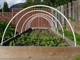 How To Make A Raised Vegetable Garden by Building Hoop House For A Raised Garden Bed U2013 Backwoods Mama