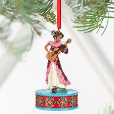 amazon com disney elena of avalor singing sketchbook ornament