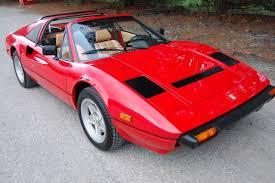 308 gts qv for sale 308 targa 1985 for sale zffua13a6f0057869 1985