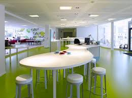 Best Colourful Office  Greens Images On Pinterest Office - Contemporary office interior design ideas
