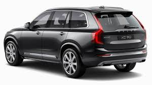 Volvo Xc90 2015 Dimensions Boot Space And Interior