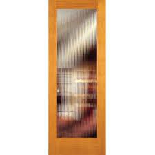 feather river doors 30 in x 80 in reed woodgrain 1 lite