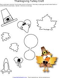 thanksgiving printables banners coloring turkey craft