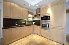 Light Brown Kitchen Cabinets Dark Kitchen Cabinets With Light Quartz Countertops Pictures Of