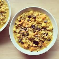 cuisiner coco plat dahl de lentilles au lait de coco patate douce chou fleur