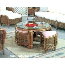 white rattan furniture wicker chairs with ottomans rattan ottoman