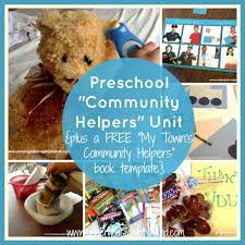 community helpers unit for preschool huge list of resources and
