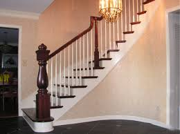Banister Newel Curved Staircase With Custom Turned Newel Post Kc Wood