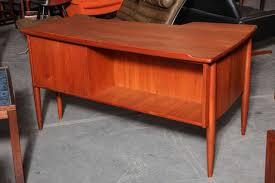 Danish Modern Teak Desk by Danish Modern L Shaped Teak Desk At 1stdibs