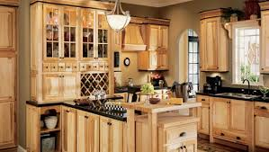 Kitchen Ideas Using Hickory Cabinets  And Images Gallery - Natural kitchen cabinets