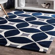 Blue Area Rug Charming Roush Navy Area Rug Reviews Allmodern At Blue