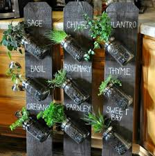 diy mason jar herb garden and herb ideas the whoot