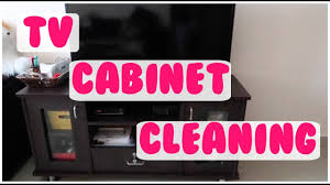 tv cabinet cleaning tv unit organisation india youtube
