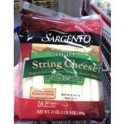sargento light string cheese calories sargento light string cheese reduced fat low moisture mozzarella