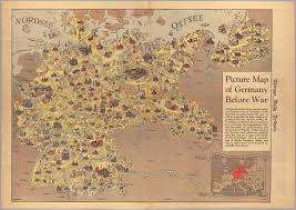 Maps Of Germany by Picture Map Of Germany Before The War Cornell University Library