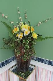 Easter Urn Decorations by A Look At My Easter 2017 Decorations Here At Whimsey Hill House