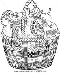 thanksgiving coloring pages for adults adults vectores en stock y arte vectorial shutterstock
