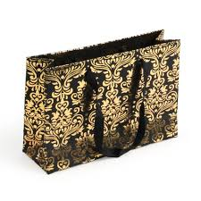 gold gift bags gold small wide gift bag