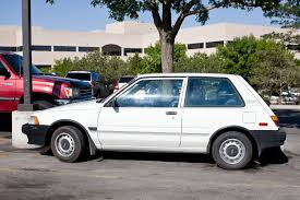 toyota hatchback the street peep 1988 toyota corolla fx
