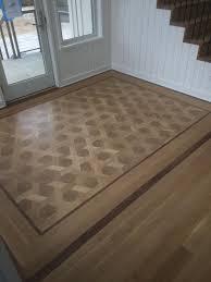 basket weave endgrain white oak pattern floor zorzi creations