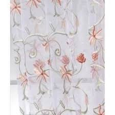 Sheer Embroidered Curtains 2 Pink Organza Sheer Sari Curtain Embroidered Mirror Work Curtains