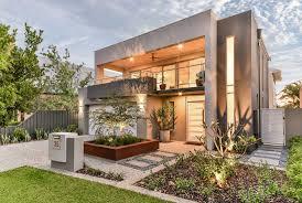 narrow modern homes upside down home maylands promenade homes house ideas