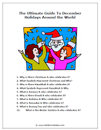the ultimate december holidays around the world sle