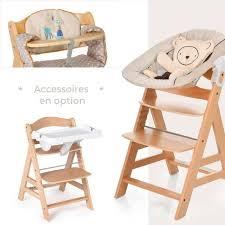 chaise b b volutive chaise haute évolutive bois alpha grey