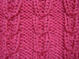 linked ribs knitting stitch how to knit